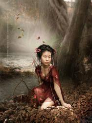 Japanese Girl by CindysArt
