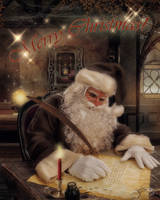 Santa by CindysArt