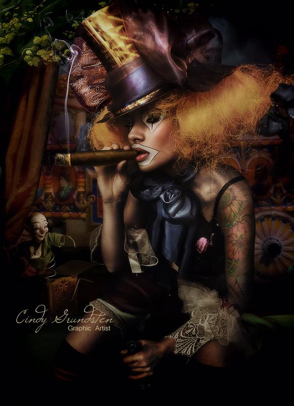 The Clown by CindysArt