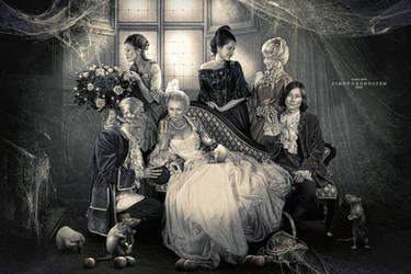 Mystical Family by CindysArt