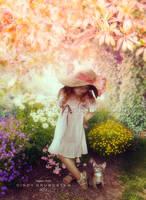 Summergirl by CindysArt