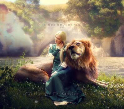 Aslan by CindysArt