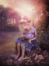 In fairy tales by CindysArt