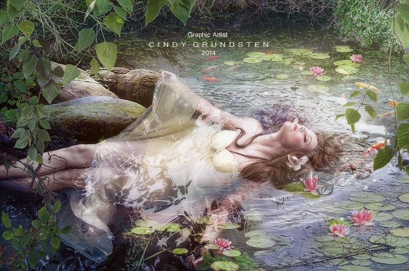 Ponds beauty by CindysArt