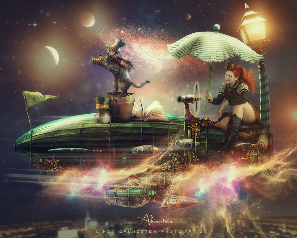Steampunk Adventure by CindysArt