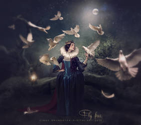 Fly free by CindysArt