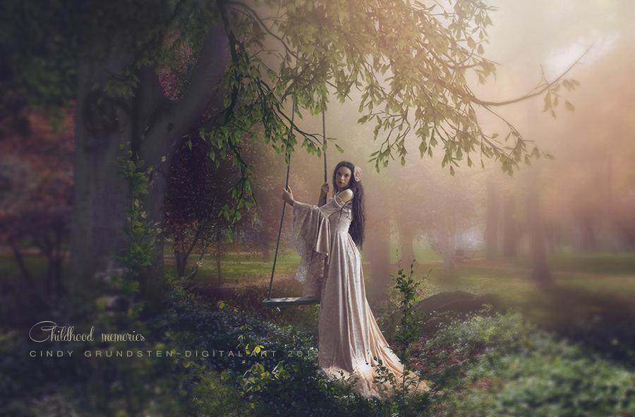 Childhood memories by CindysArt
