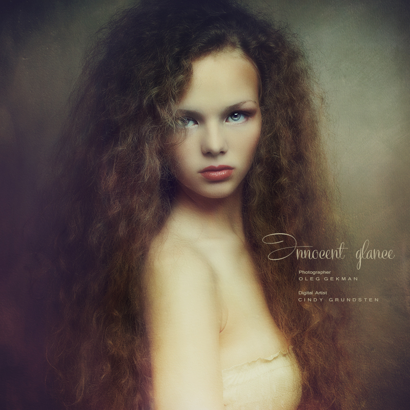 Innocent glance by CindysArt