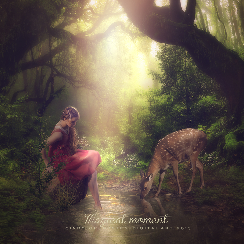 Magical moment by CindysArt