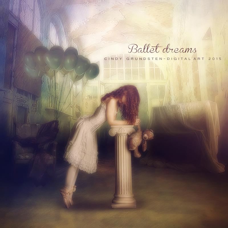Ballet dreams by CindysArt