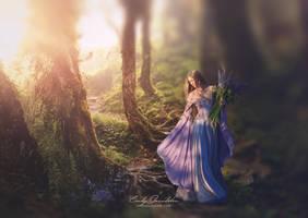Flowergirl-2 by CindysArt