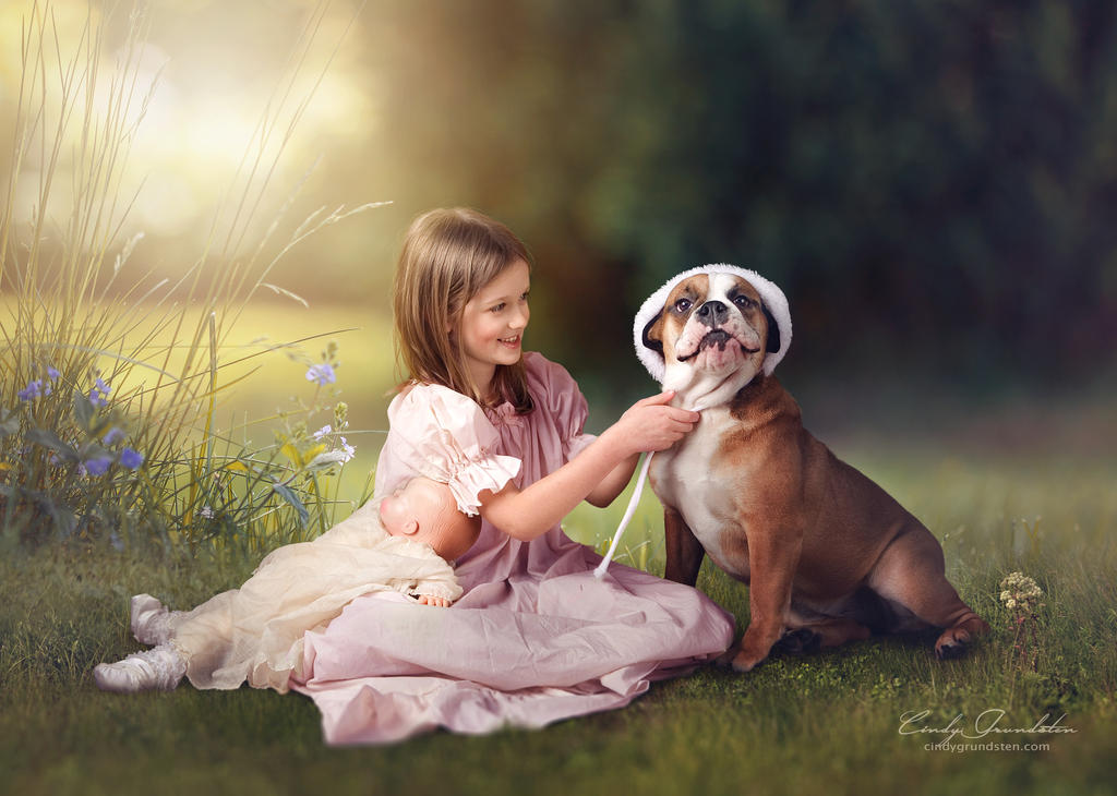 My little dog by CindysArt