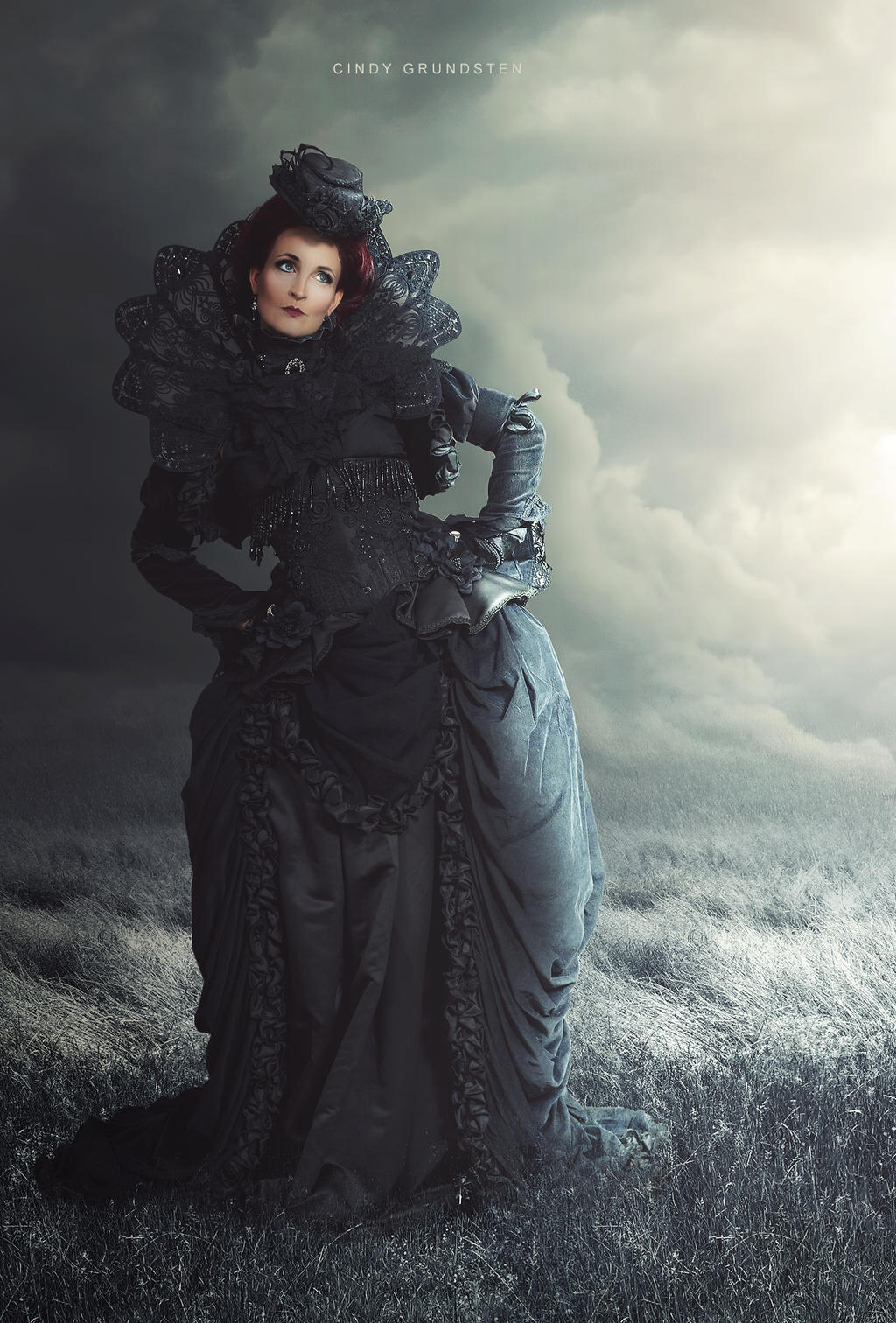Dark lady by CindysArt