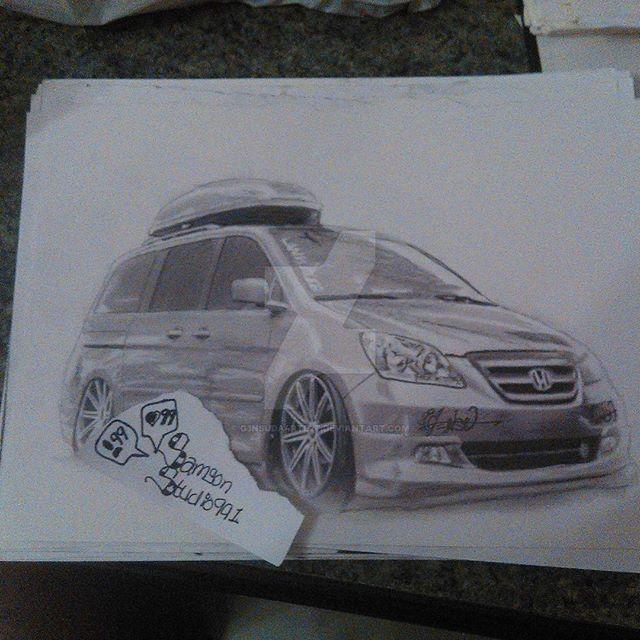 Honda Odyssey Stanced By G3nsuDa4rte2t