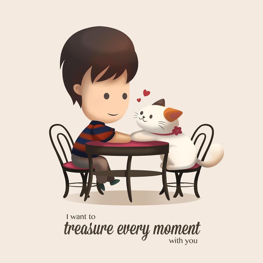 Treasuring Every Moment by yurecia