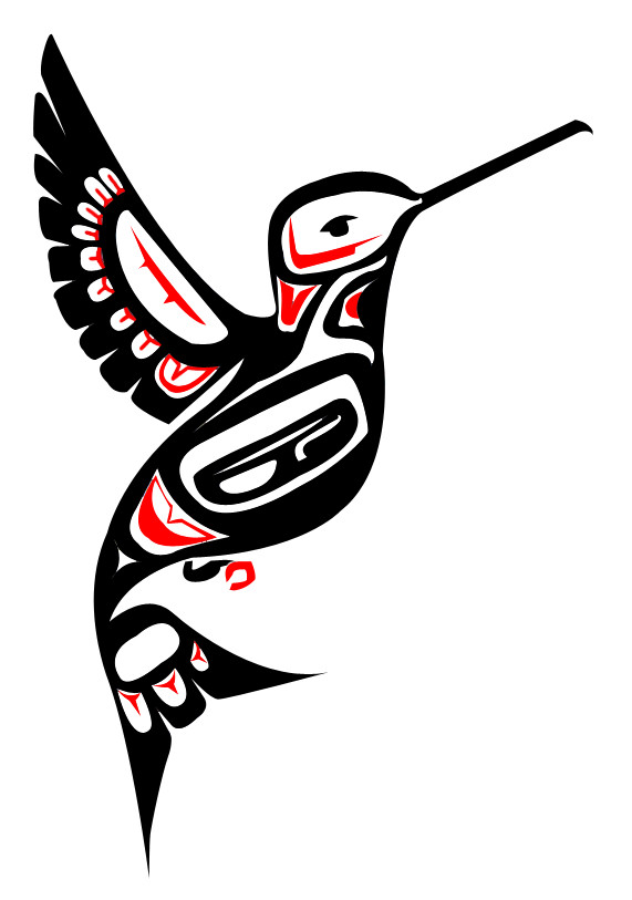 Native Art practice - Hummingbird by Girl-Money23 on ...