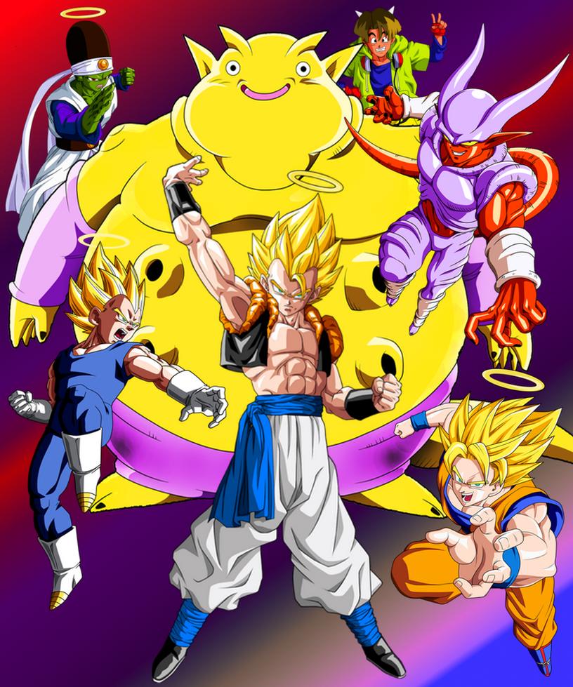 Wallpaper DBZ Fusion 1 By MajinArtBook