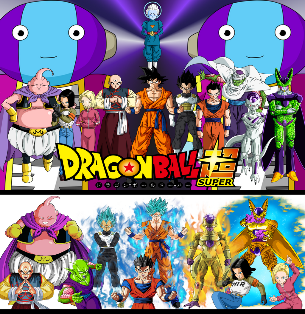 Wallpaper DBS Best Roster Univers 7 Full Power By