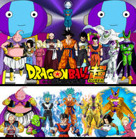 Wallpaper DBS Best Roster Univers 7 Full Power by MajinArtBook