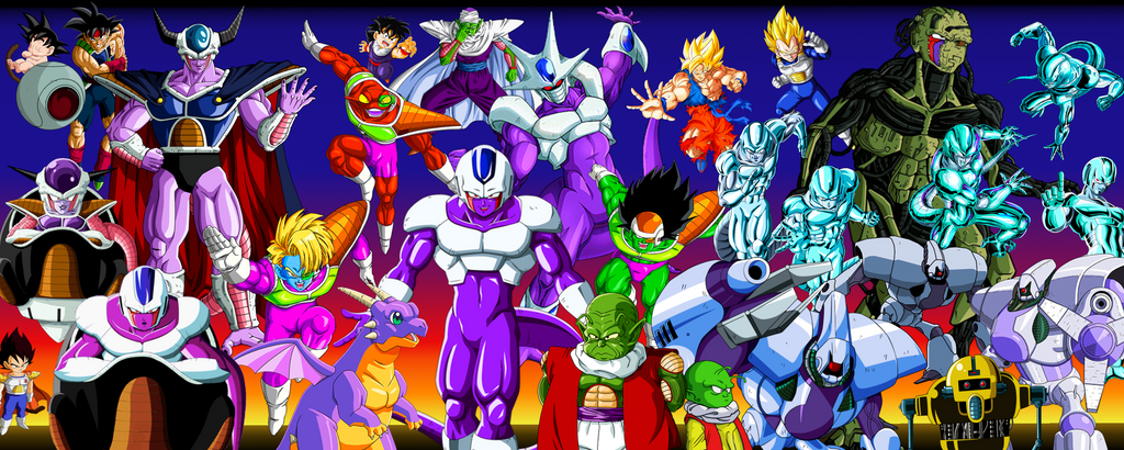 Wallpaper DBZ Cooler Movie Story By MajinArtBook