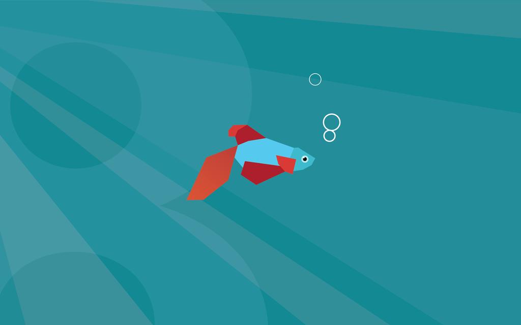 Windows 8 beta fish modern look like wallpaper by mir808 ...