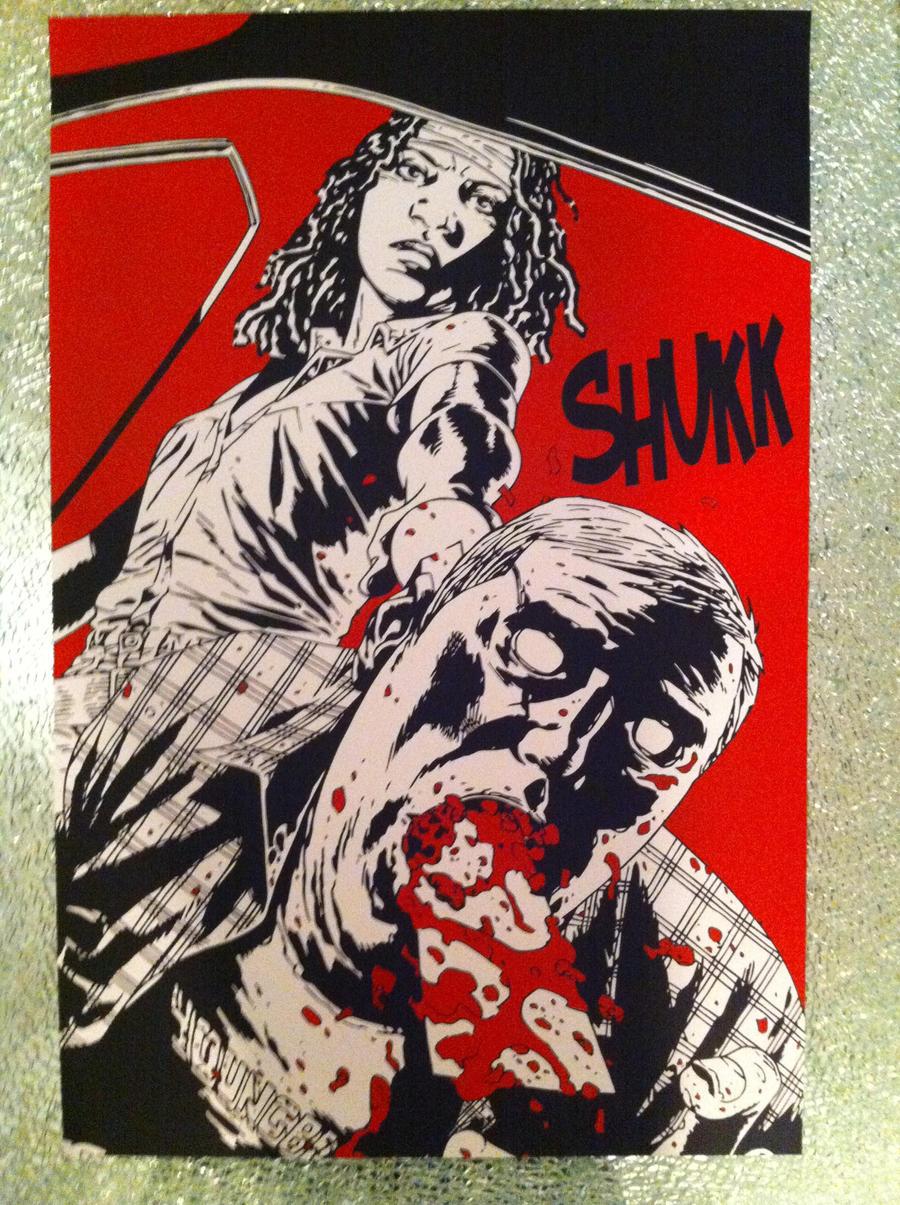 The Walking Dead Michonne By CarloDelux