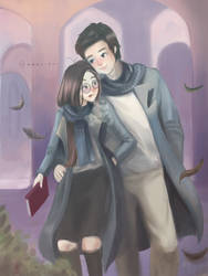 Ravenclaws can be romantic too by Mewlish