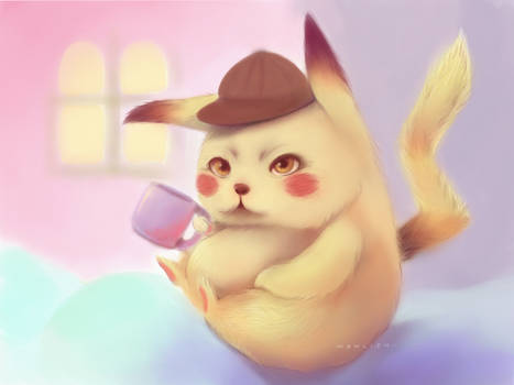 Detective Pikachu Fan Art