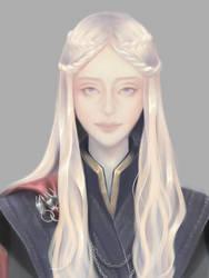 Daenerys Targaryen Fan Art by Mewlish