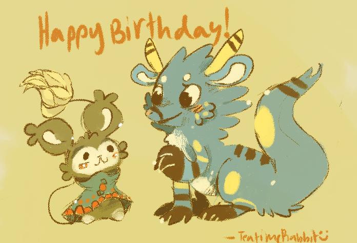 HAPPY BIRTHDAY RAYNART!!! by Teatime-Rabbit