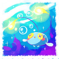 Chinchou by Teatime-Rabbit