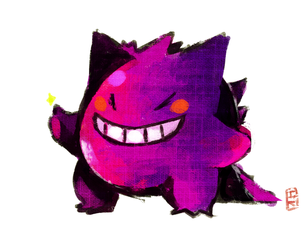 Gengar by Teatime-Rabbit