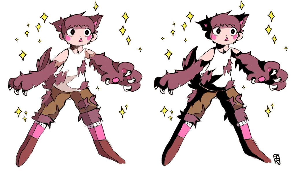 Werewolf boy! by Teatime-Rabbit