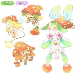 Grass Fairy Concepts