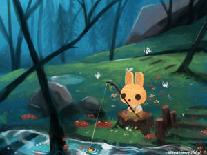 Fishing in the Forest