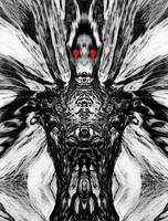 mothman by metalflame13
