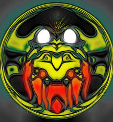 ghatanothoa in the eye of t'yog