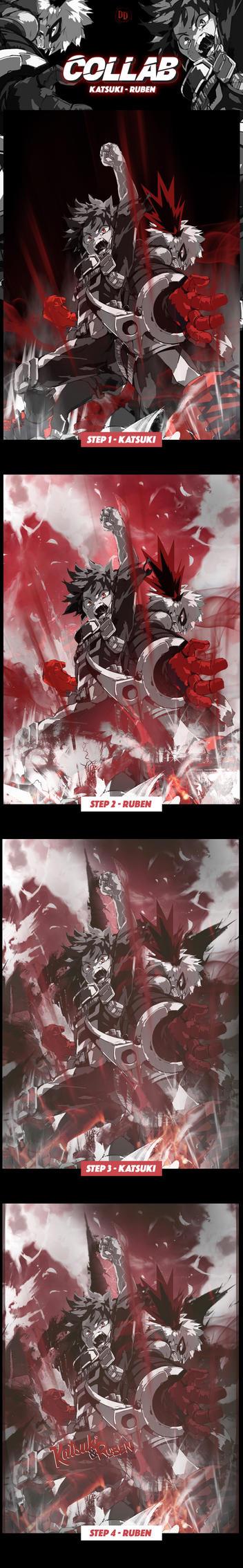 Collab w/ Katsuki : Deep Hero !!!!! by RubenRiquelme