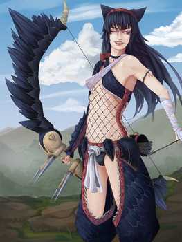 Monster Hunter - Nargacuga