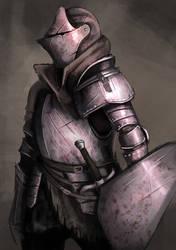 Dark Souls 3 - Knight Class by modelchan