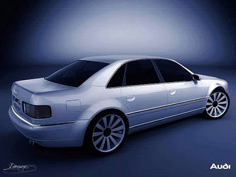 Audi A8 by Wasus1989