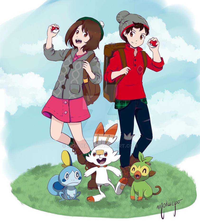 Pokemon Sword And Shield By Mokuepo On Deviantart