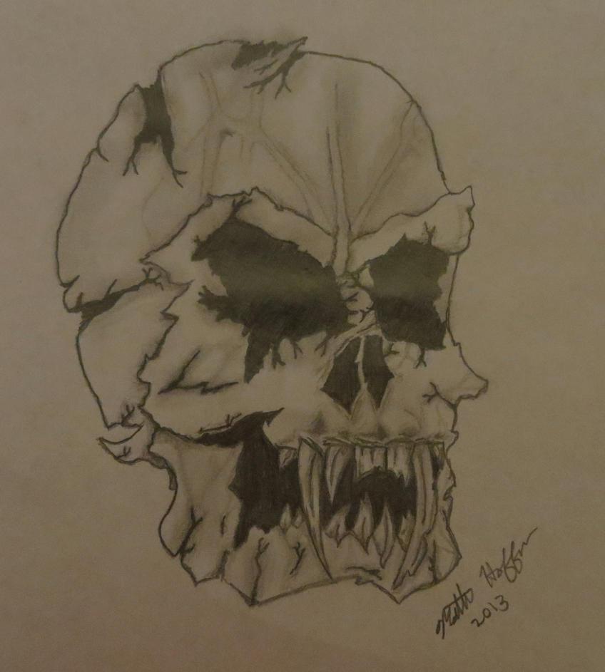 Demon Skull (Remake of Devilish Evil Skull) by ...