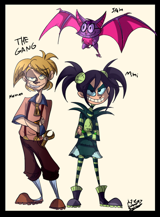 This gang fights evil 8D by FreaklySilent