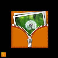 Photos bag icon by Sergey-Alekseev