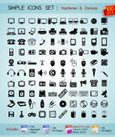 100 Simple Icons
