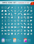 90 Simple Icons