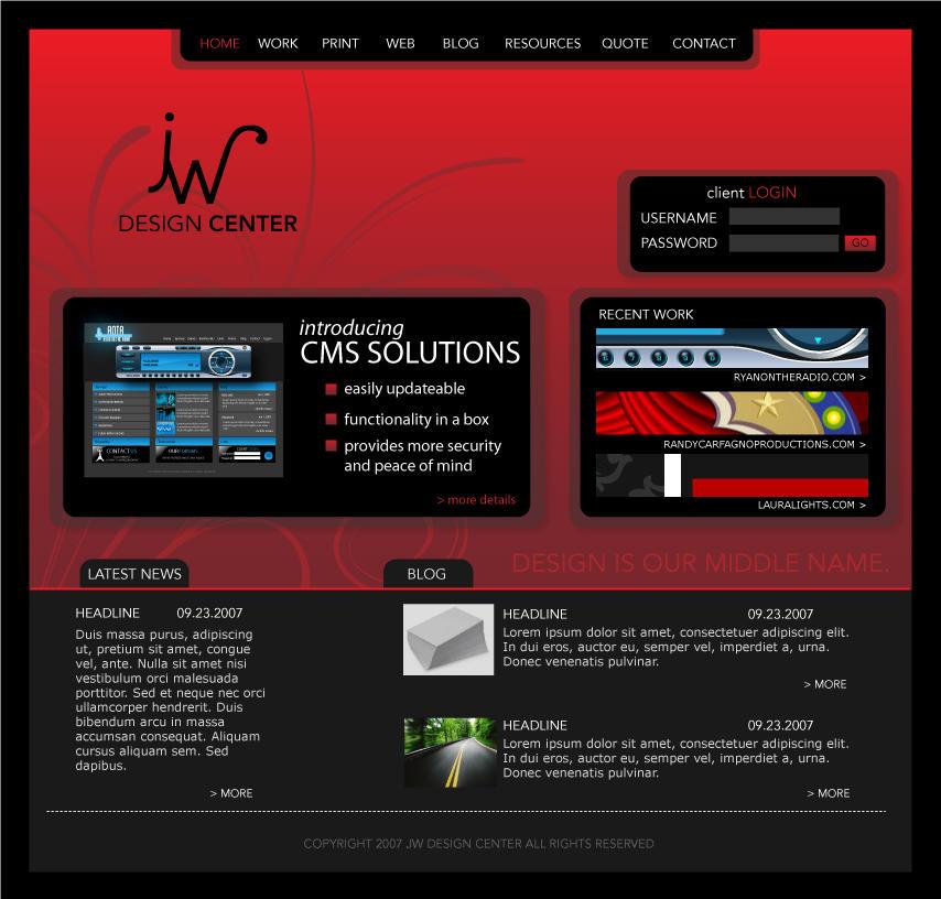 JW Redesign