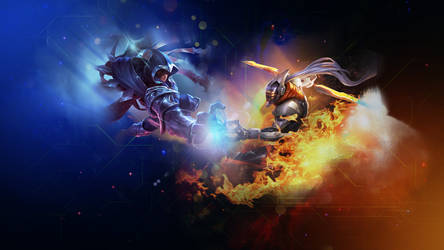 Master Yi VS Talon by Temochan