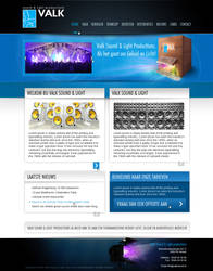 Website for sound company by D72
